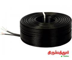 CCTV Camera Wire cable 3+1, cctv camera cable - Image 1/3