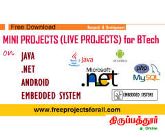 Final year Projects - ieee projects - mini projects