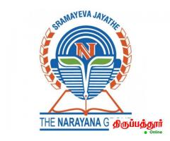 NARAYANA INSTITUTE OF TECHNICAL SOLUTION