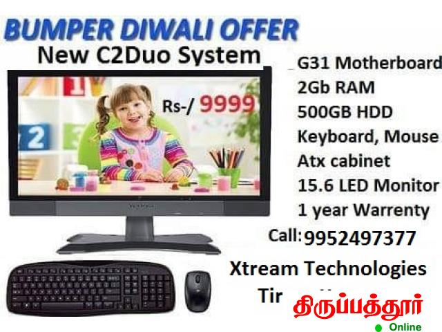 New Desktop Computer offer , PC System low cost , Xtream Technologies @9999 - 1/2