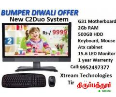 New Desktop Computer offer , PC System low cost , Xtream Technologies @9999