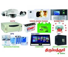 ALL CCTV HD ,IP CERAS,VIDEO DOORPHONES,BURGLARY ALARAMS,SOLAR and RO SALES AND SERVICE