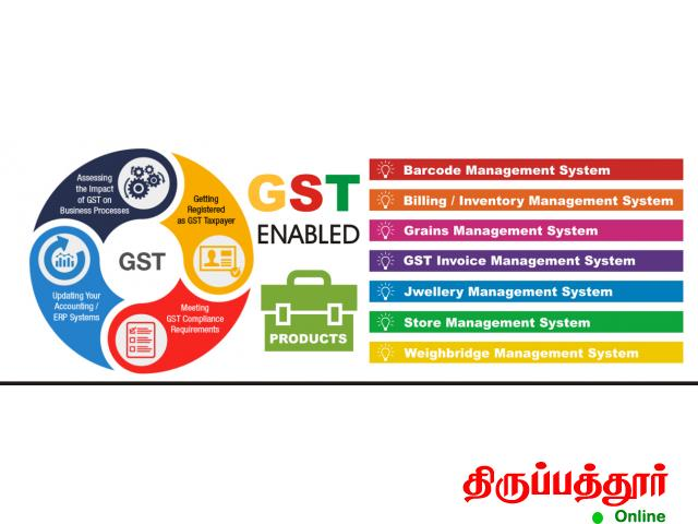 GST Billing Software, GST Accounting Software Tirupattur - 2/4