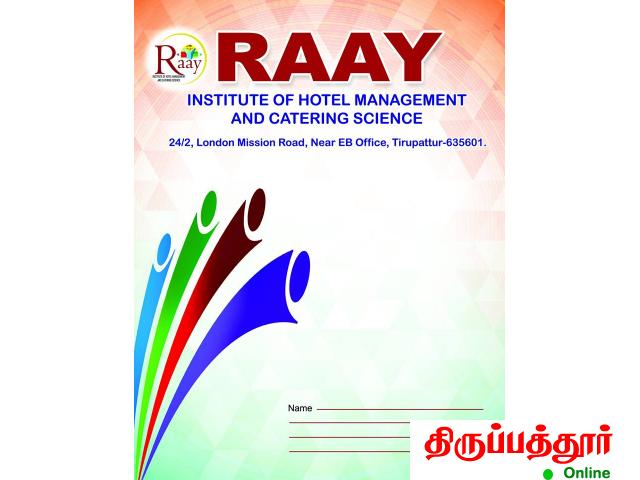 Raay Institute Of Hotel Management & Catering Science Tirupattur - 4/4