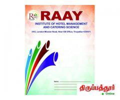 Raay Institute Of Hotel Management & Catering Science Tirupattur - Image 4/4