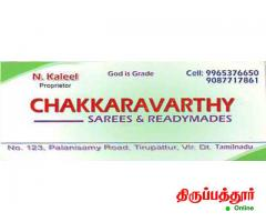 CHAKKARAVARTHY SAREES and READYMADES