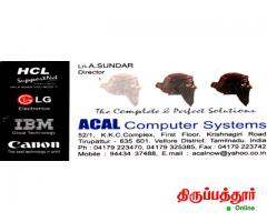 ACAL COMPUTER SYSTEMS SALES and SERVICE