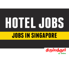 HOTEL MANAGEMENT, JOB in Singapore @ food court