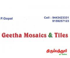 GEETHA MOSAIC AND TILES