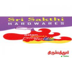 SRI SAKTHI HARDWARE AND PAINTS