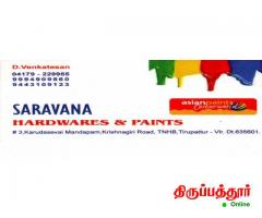 SARAVANA HARDWARES AND PAINTS