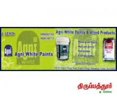 AGNI WHITE PAINTS AND  ALLIED PRODUCTS