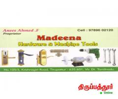 MADEENA HARDWARE AND MACHINE TOOLS