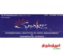SPARK INTERNATIONAL INSTITUTE OF HOTEL MANAGEMENT