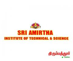 SRI AMIRTHA INSTITUTE OF TECHNICAL and SCIENCE