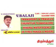 V.BALAJI TRANSPORT AND TRAVELS