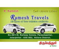 RAMESH TRAVELS